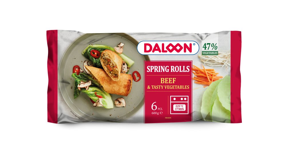 Spring Rolls with beef