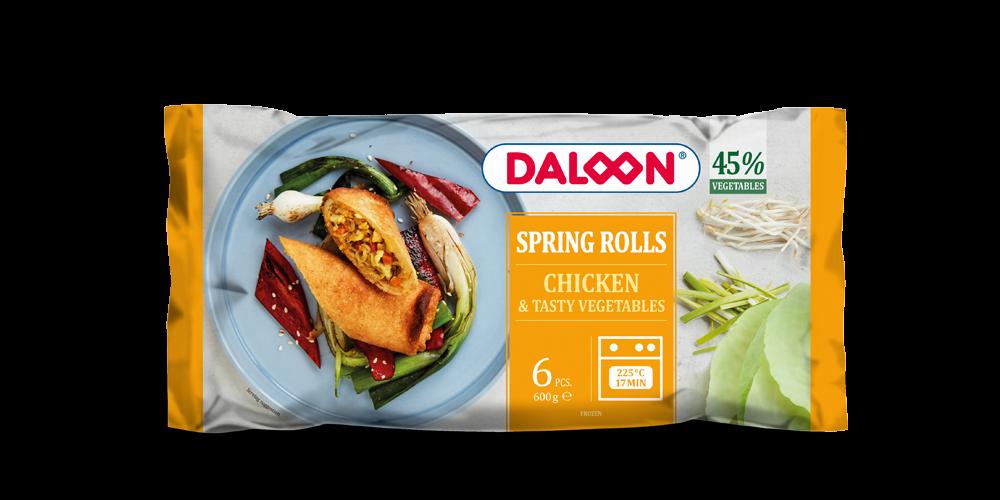 Spring Rolls with chicken