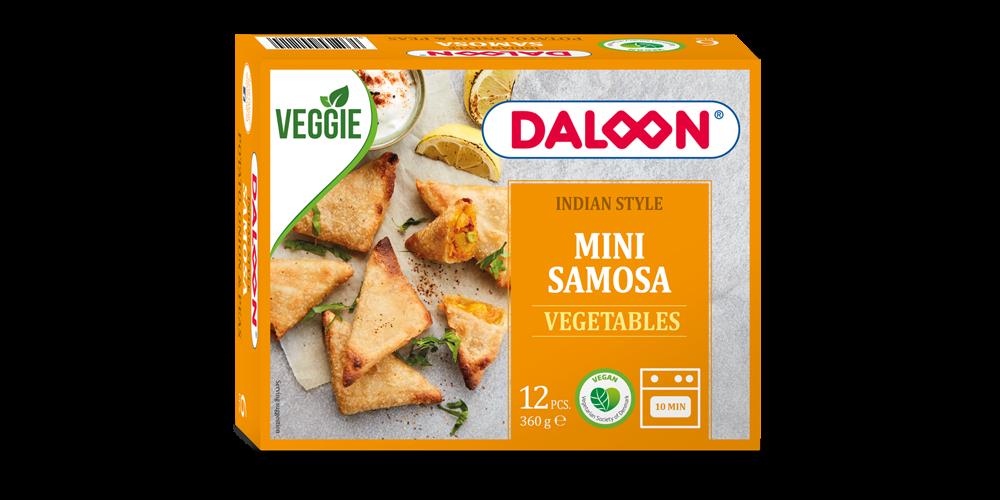 Mini Samosa Vegetables