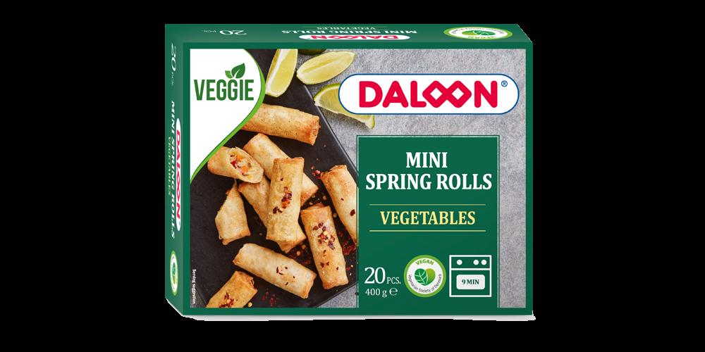 Mini Spring Rolls Vegetables