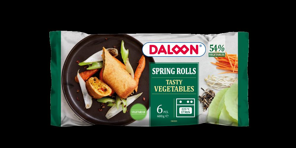 Spring Rolls Tasty Vegetables