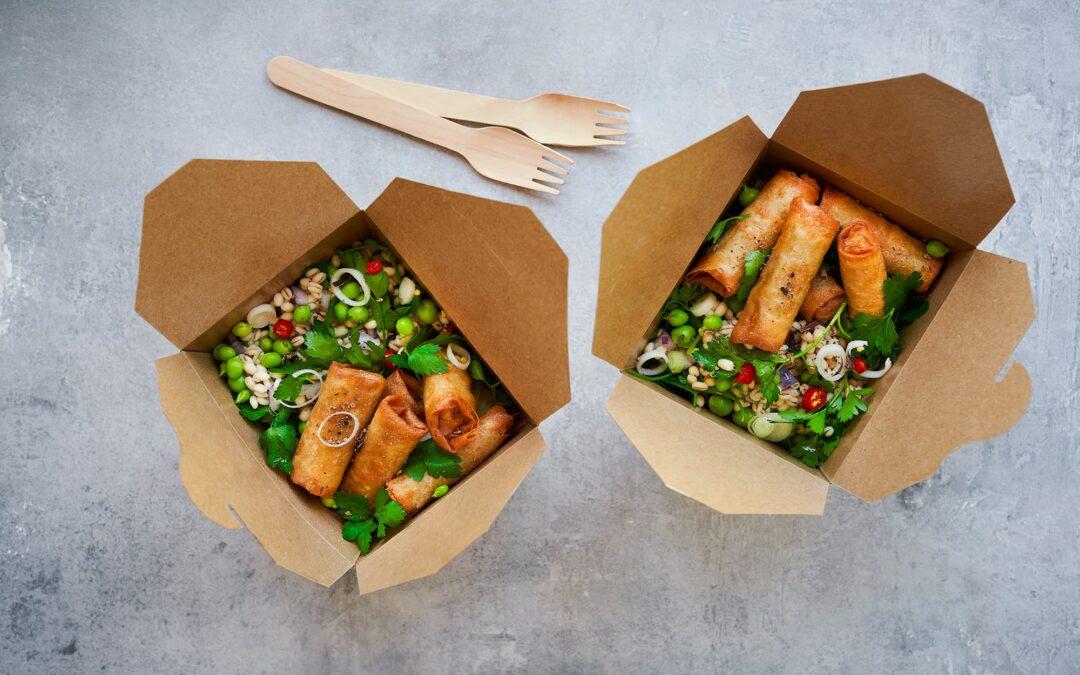 Økologiske miniruller med spicy perlespelts-salat
